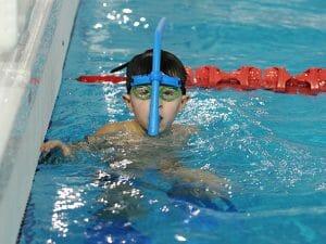 Плавание с трубой